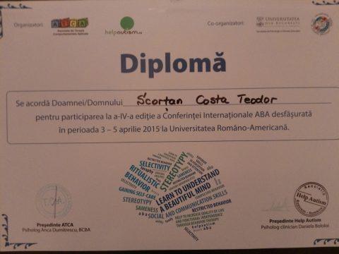 Diploma ABA